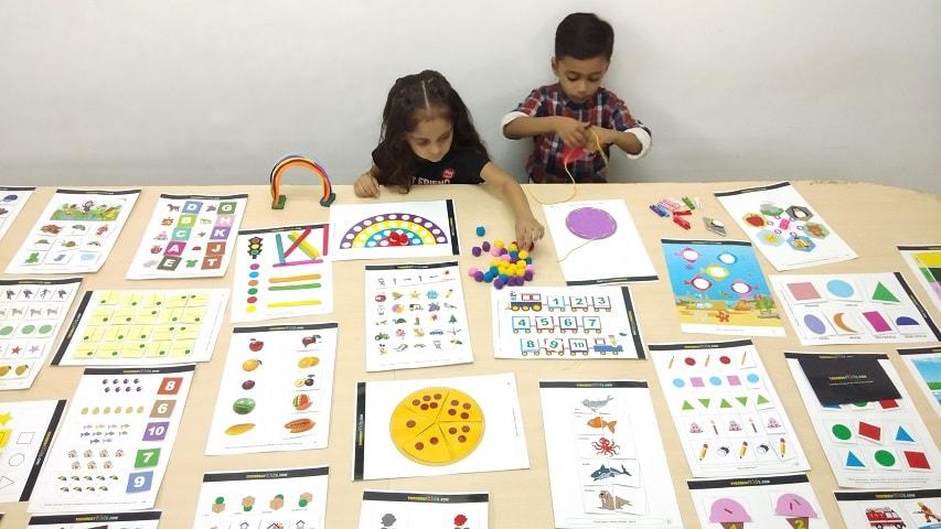 Activity Worksheets for Kindergarten | Nursery, LKG and UKG - The
