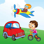 vehicles learning for kids