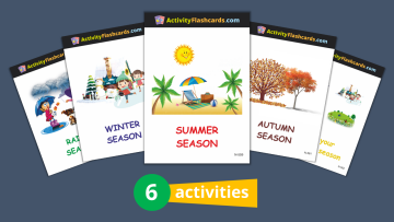 activity flashcards for LKG