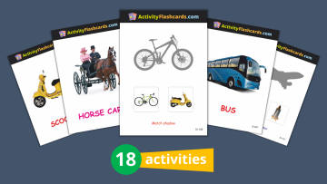 activity flashcards for UKG